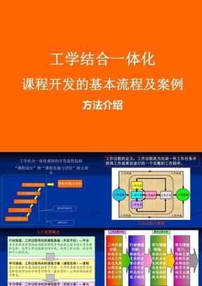 基于工作过程课程体系开发.ppt