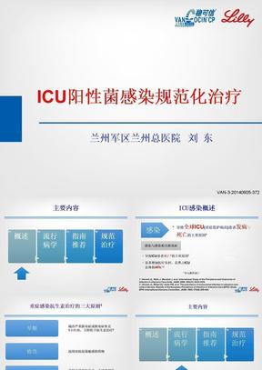 ICU阳性菌感染规范化治疗.ppt
