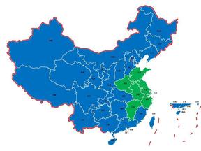 中国地图标准版(可编辑颜色).ppt
