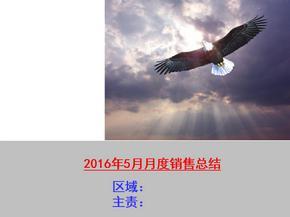 2016年月度销售会议总结报告.ppt