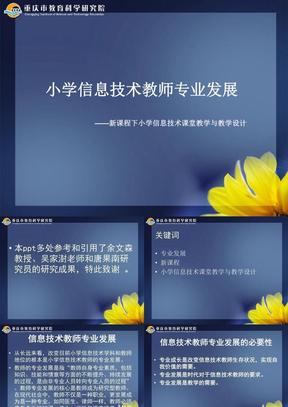 小学信息技术教师专业发展.ppt