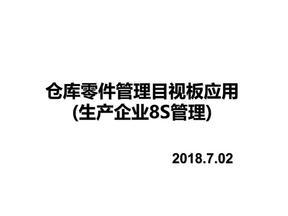 仓库目视化管理-仓库目视化管理标准化作业指导(模板).pdf