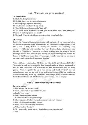 新人教版八年级上英语课文原文.docx