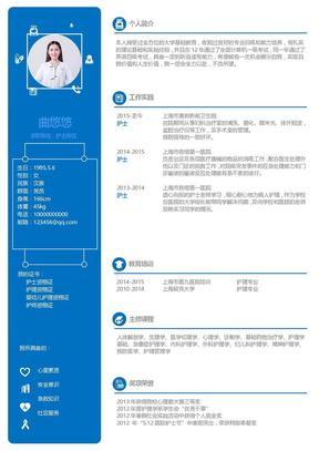 2019年护士个人简历求职模板.docx