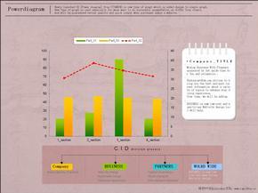 最全ppt图表模板38张-各种柱状图-饼状图-分析图(免费).ppt
