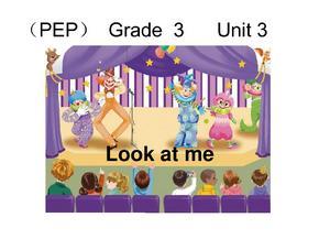 人教版 小学三年级英语上册第三单元课件( unit3 Look-at-me).ppt.ppt
