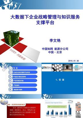 石油企业战略与知识服务..ppt