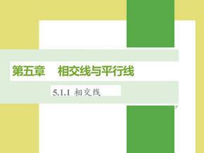 新人教版七年级下册数学第五章课件.ppt