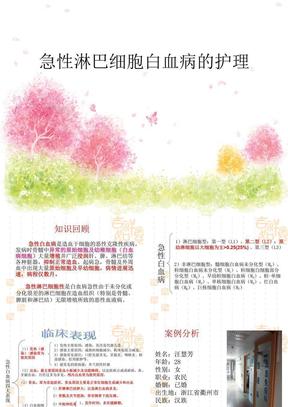 急性淋巴细胞白血病的护理(修改版).ppt