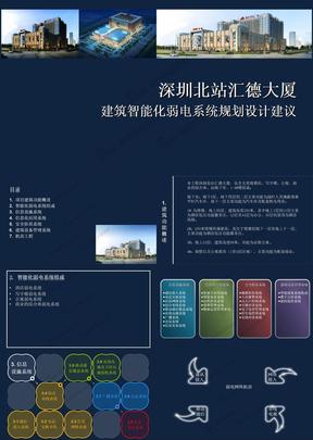 综合商业广场项目智能化弱电系统专题汇报.ppt
