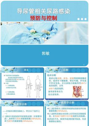 导尿管相关尿路感染预防与控制.ppt