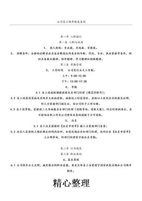 公司员工守则及规章制度流程.doc.doc