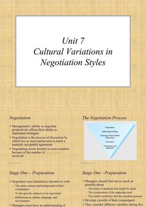 跨文化交际实用教程-Unit7.ppt