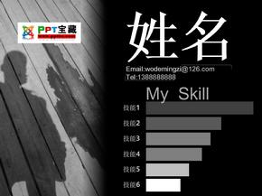 ppt宝藏-个人简历模板.ppt