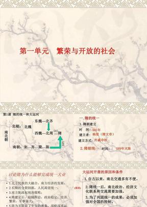 七年级下册历史课件.ppt