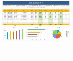 销售提成结算清单图表模板.xlsx