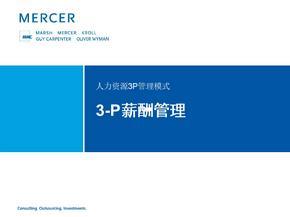 美世3-P薪酬管理中文版.ppt