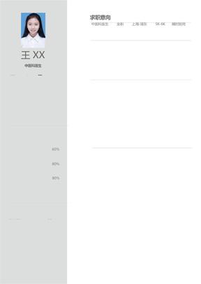 最新医生个人简历模板(可编辑).docx