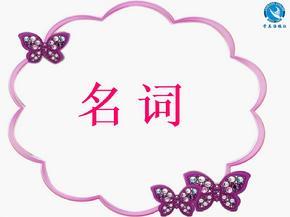初中英语中考专题复习课件:名词.ppt