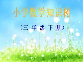 (人教版)三年级数学下册知识树(全册).pptx