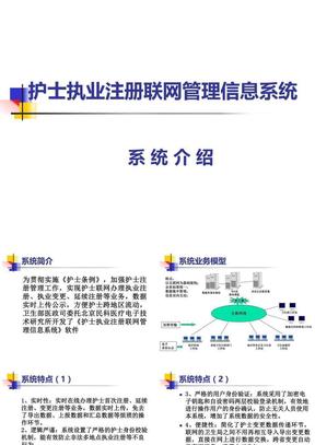 护士执业注册联网管理信息系统.ppt