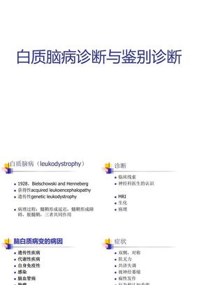 白质脑病诊断与鉴别诊断.ppt