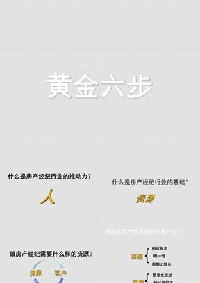 房地产黄金六步营销.pptx