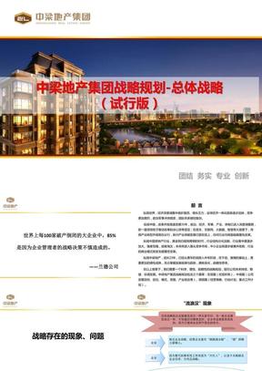 中梁地产集团战略规划报告.pptx