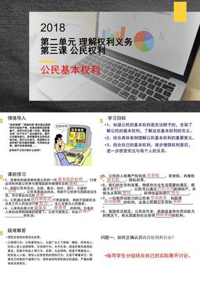 新部编人教版3.1 公民基本权利(共28张PPT).pptx
