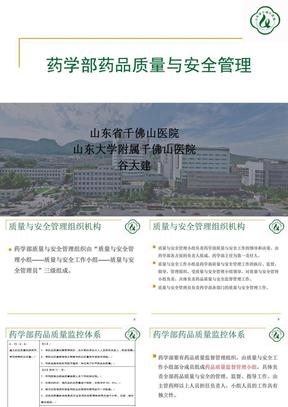 药学部药品质量与安全管理(修改版).ppt