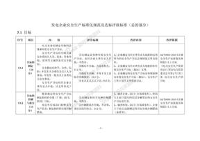 发电企业安全生产标准化规范及达标评级标准(总的部分).doc