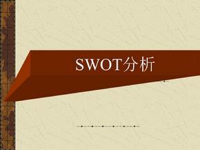 SWOT分析实例.ppt