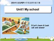 【新人教版小学英语四年级下册ppt课件】Unit1 B Let's learn.ppt