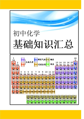 初中化学基础知识汇总.doc