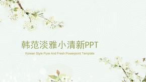 韩范淡雅小清新PPT模板.pptx