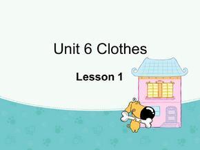 一年级下册英语课件-Unit 6 Clothes Lesson 1 人教(新起点)(2014秋) (共21张PPT).ppt