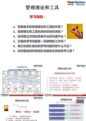 精益生产管理咨询顾问常用的方法和工具.ppt