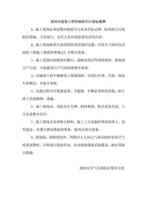 扬尘治理标准牌.doc