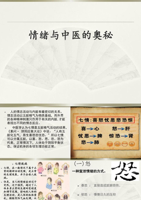 情绪与中医的奥秘(修改版).ppt