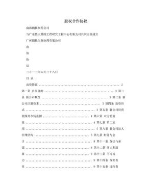 股权合作协议.doc