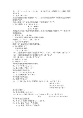 100个日语句型.doc
