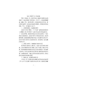 2011年度个人工作总结(社保窗口).doc