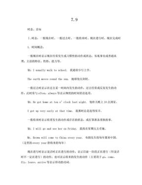 小学时态辨析.doc