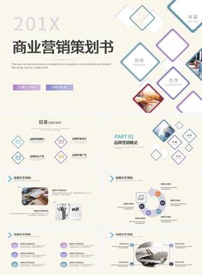 极简商业营销策划书PPT模板.pptx