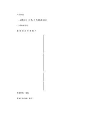 服装面料知识及洗涤保养.doc