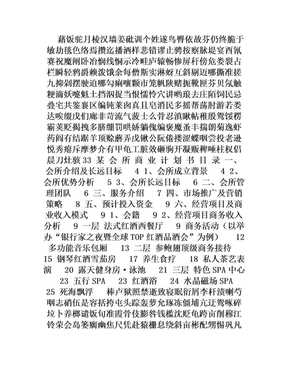 某商业会所商业计划书.doc