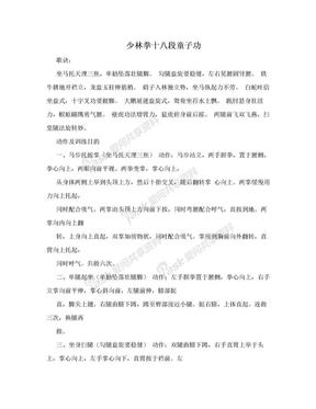 少林拳十八段童子功.doc