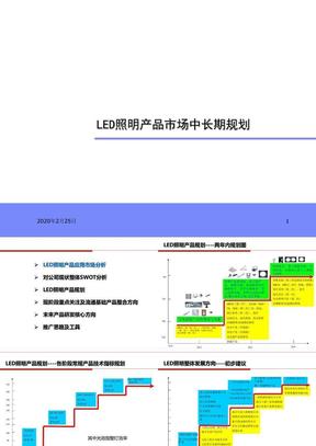 LED照明产品市场中长期规划(下部).ppt
