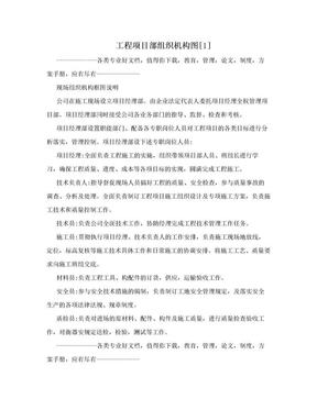 工程项目部组织机构图[1].doc