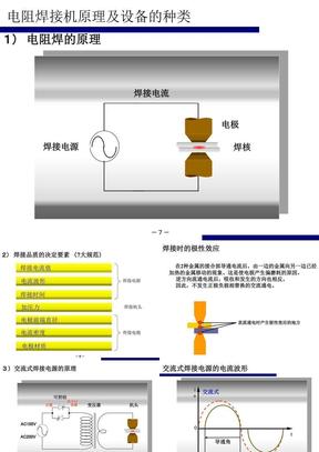 电阻焊的原理和设备的种类.ppt